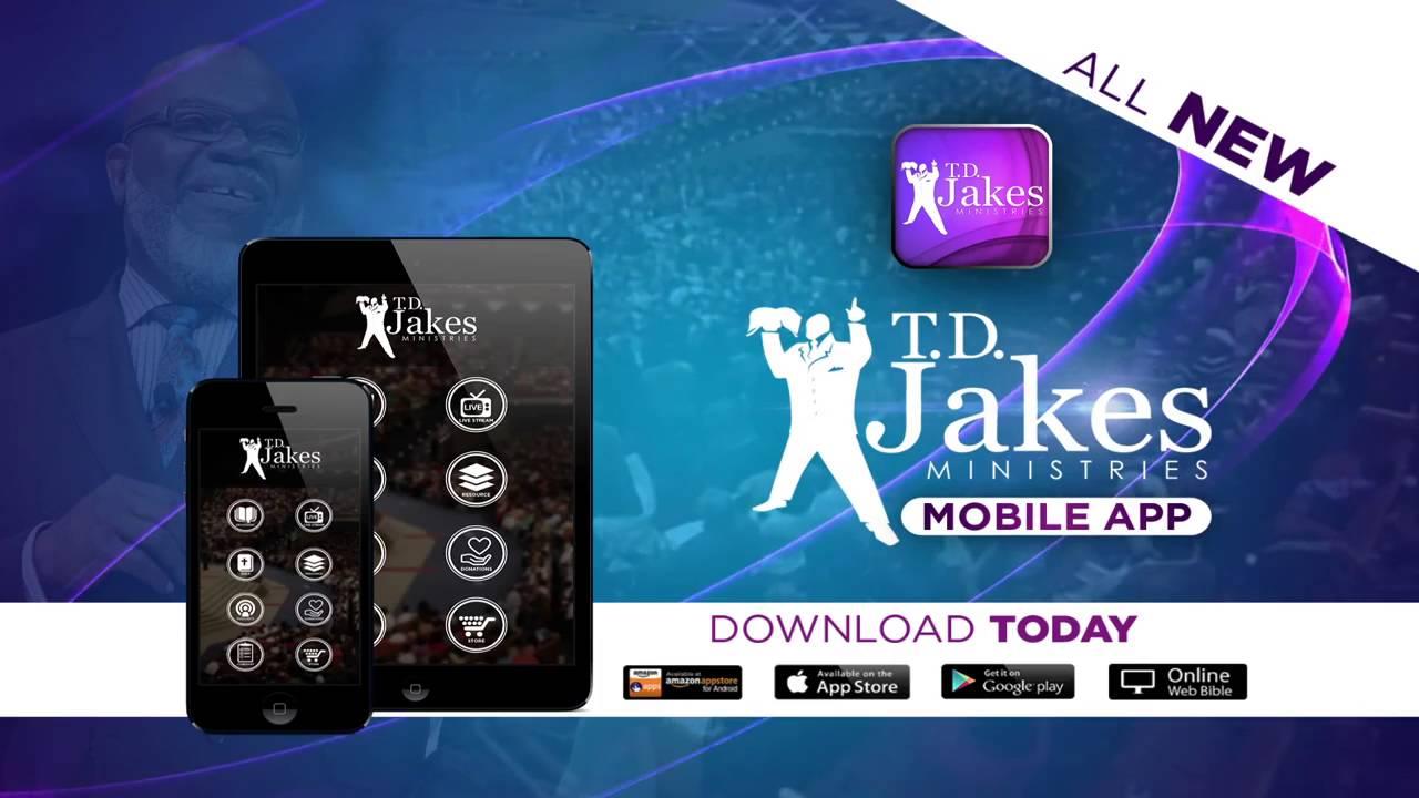 T D  Jakes Mobile App