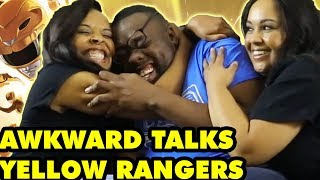 Awkward Talks with YELLOW POWER RANGERS (Karan Ashley & Nakia Burrise)