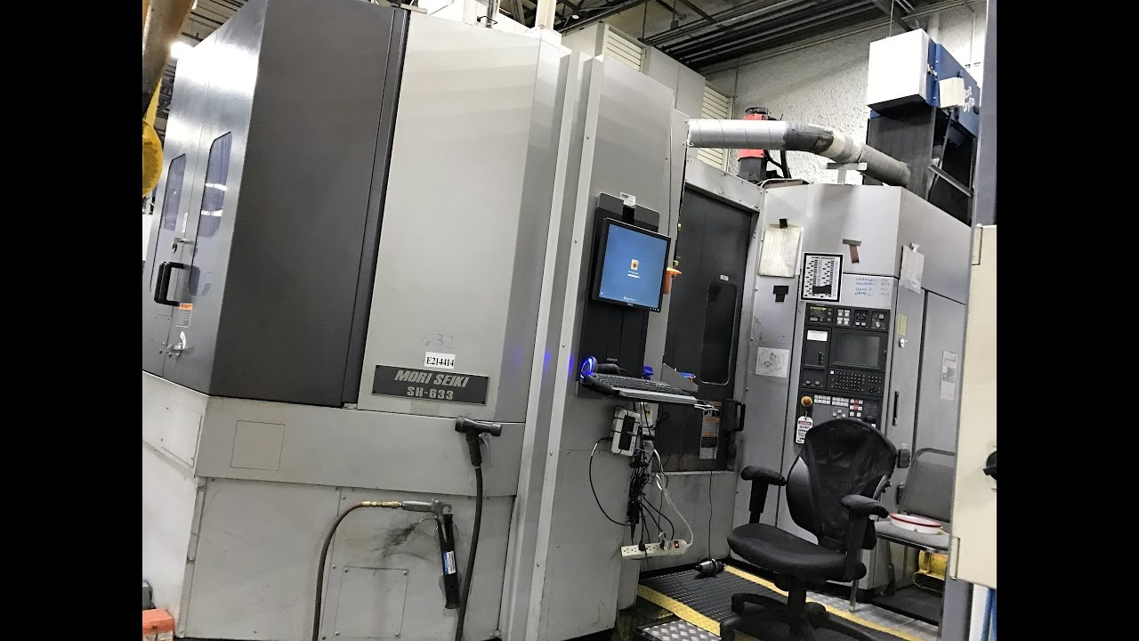 Machine #6 Mori Seiki SH-633 | Mori SH633 SN:SH630BL0720 Full Length Video
