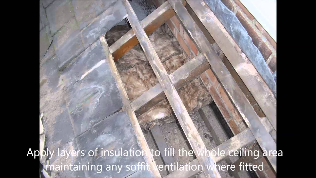 How To Insulate An Inaccessible Roof Void Youtube