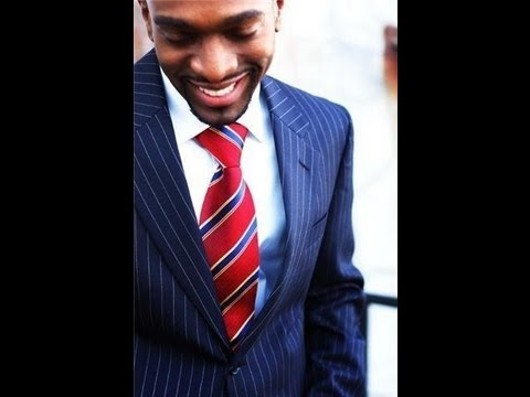 How to Tie the Puff Daddy Fat Knot Tie - YouTube