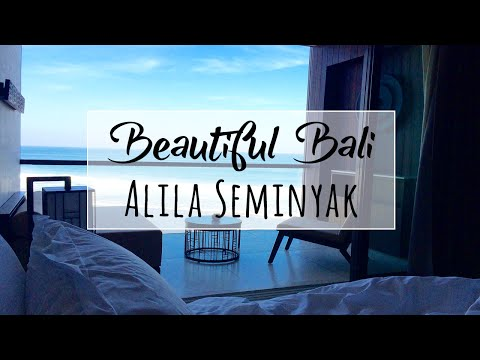 Alila Seminyak Bali | Hotel Tour | Best Views of the Sea!