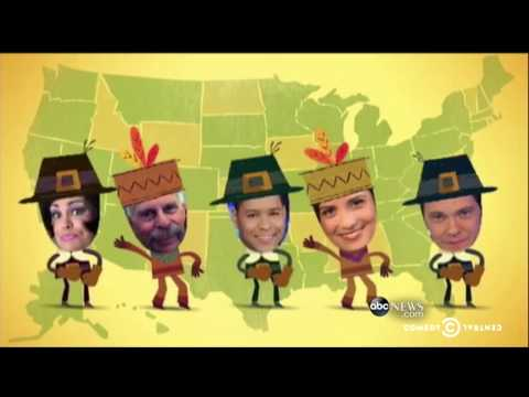 The Daily Show - Trevor's Thanksgiving Thankstacular Round-Up