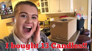 VLOGMAS Day 11: I bought 13 candles!!! Candle Day Haul