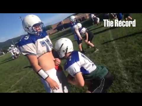 Hoosick Falls High School Football practice