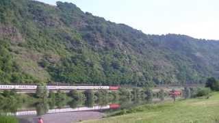 DB BR 181 bei Burgen (Mosel)