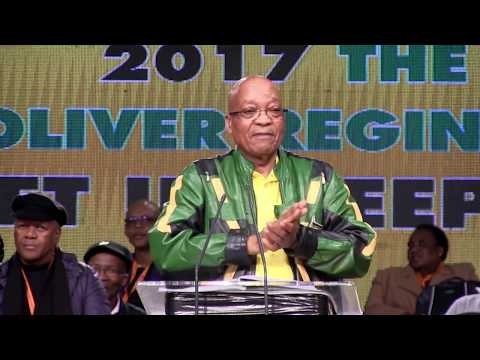 """'It is """"white"""" monopoly capital': Jacob Zuma closes #ANCPolicy conference"""