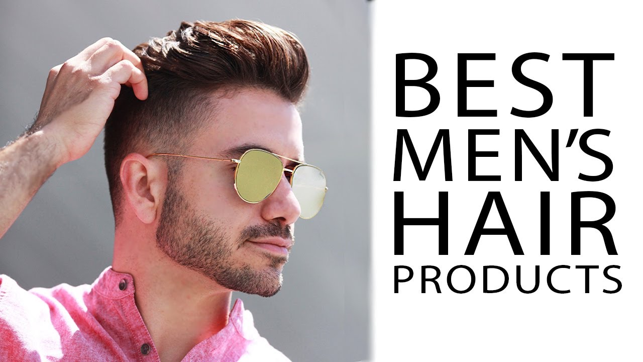 best men's hair products 2017 | my favorite hair products | alex
