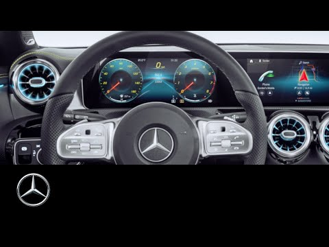 Mercedes-Benz A-Class (2019): How To Personalise The Displays