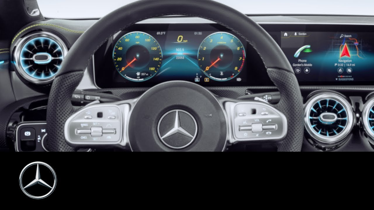Mercedes Benz A Class 2019 How To Personalise The Displays
