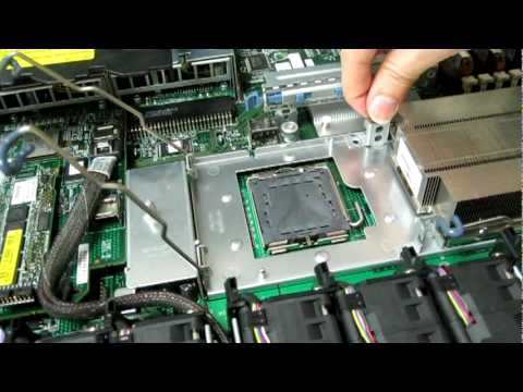 HP DL360 G5 - Upgrade from 1cpu to 2cpu - YouTube