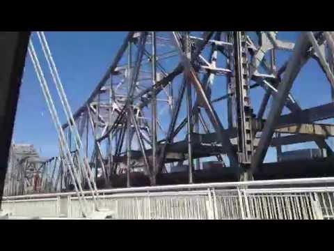 Tear down of the old San Francisco–Oakland Bay Bridge from Treasure Island.