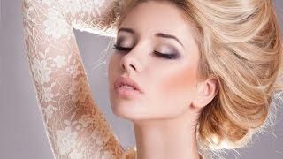 Нежный свадебный макияж невесты /мастер - класс/