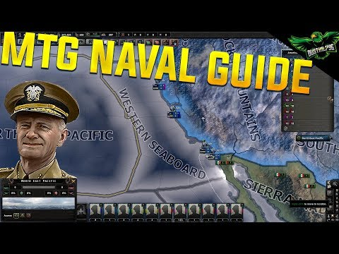 HOI4 Man the Guns new Naval Guide (Hearts of Iron 4 MTG