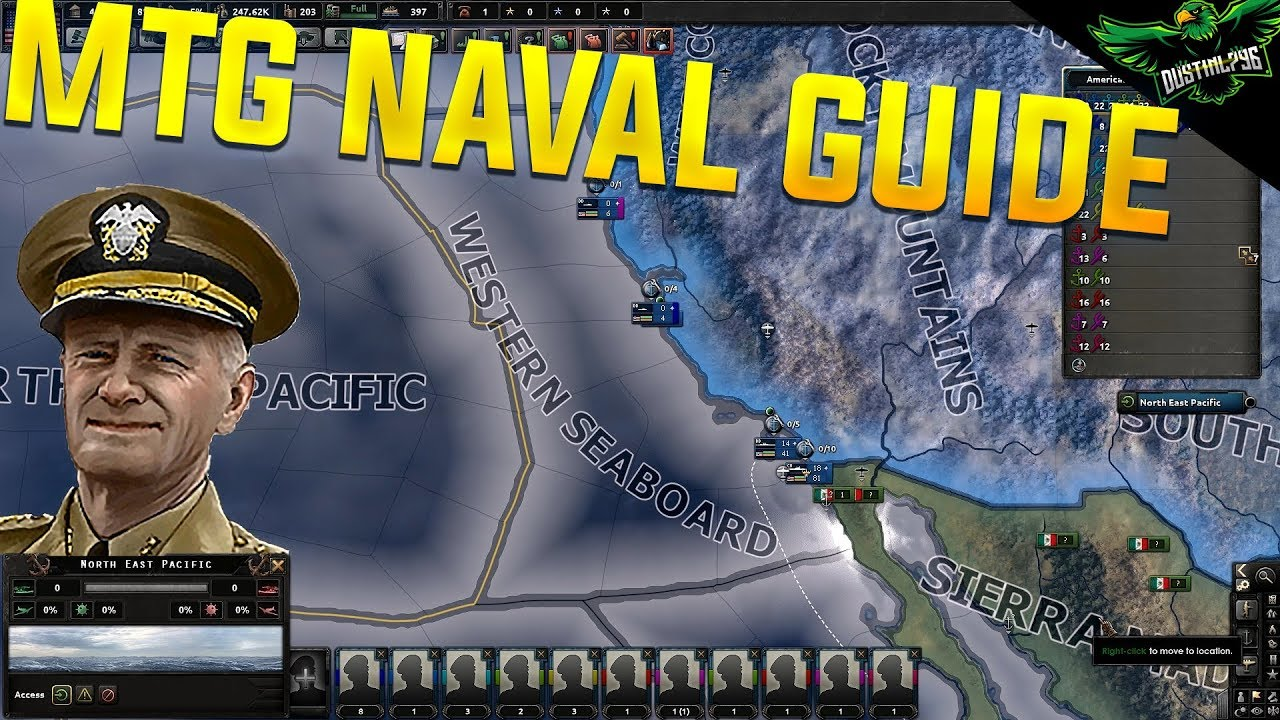 HOI4 Man the Guns new Naval Guide (Hearts of Iron 4 MTG Expansion Tutorial)