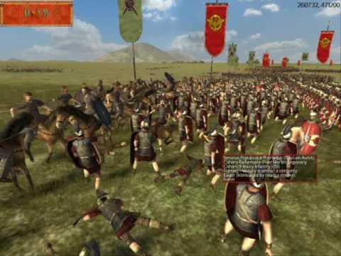 Julius Caesar In Battle Europa Barbarorum Batt...