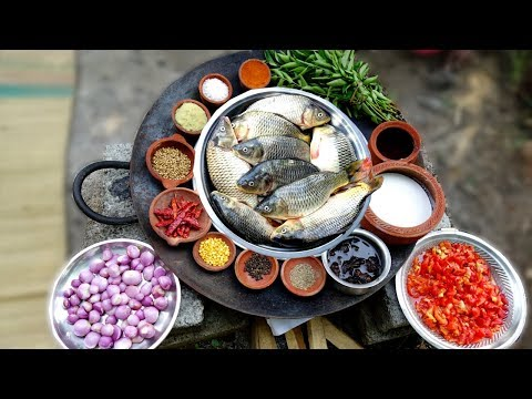 Amazing Fish Curry Cooking In My Village | Yummy Taste Fish Curry