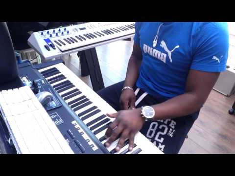 Soulful house arrangement-on keys