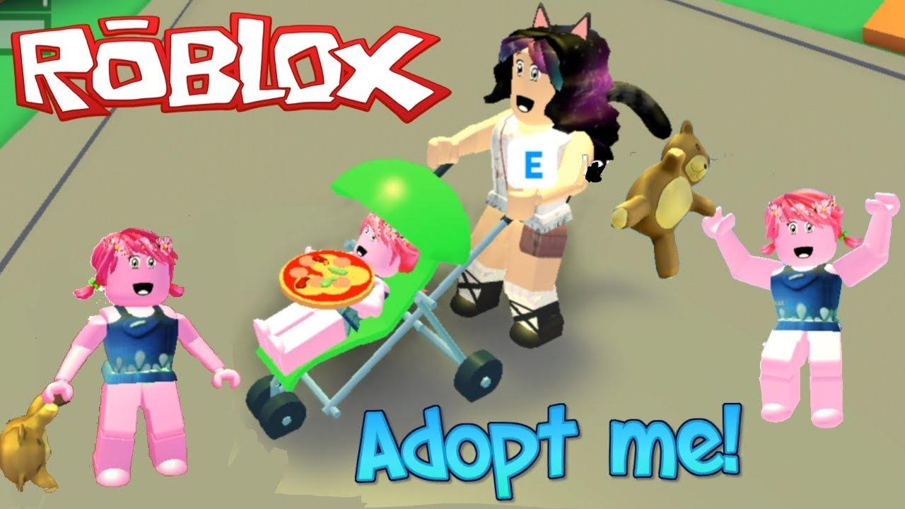 Game Youtube Game Roblox Adopt Me