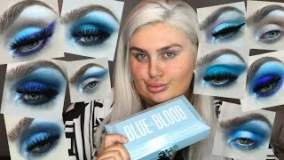 JEFFREE STAR BLUE BLOOD 10 Looks 1 Palette