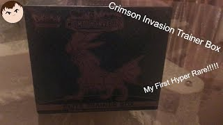 Two Secret Rares in One Box!? Hyper Rare and Gold Energy! - Opening the Crimson Invasion Trainer Box