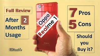 Oppo Realme 1 Full Review After 2 Months | Camera, Gaming, Battery, Pros and Cons