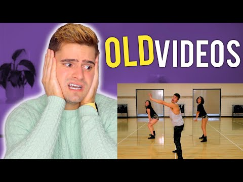 Reacting To My Old Fitness Marshall videos *CRINGE*