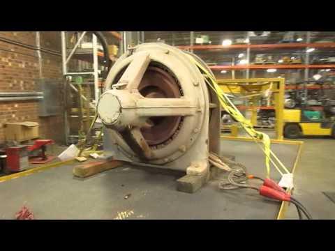 TIGERTEK / General Electric Motor Test Run