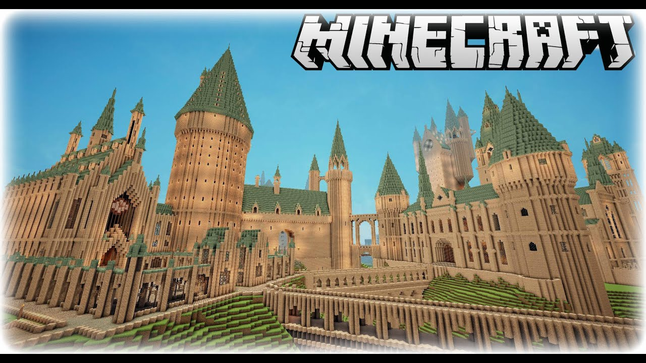 Harry Potter Buildings Minecraft