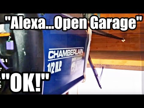 How to use Amazon's ALEXA to open any garage door for less than $40!!!