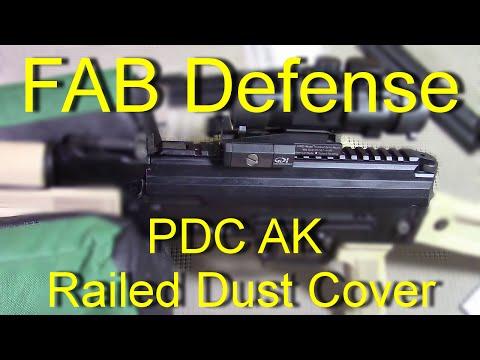 Fab Defense AK Railed Dust Cover installation - PDC AK