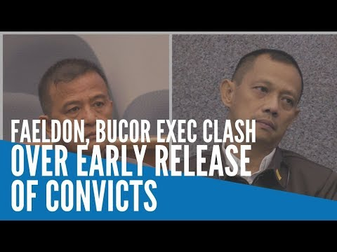 Faeldon, BuCor exec clash at Senate over early release of convicts