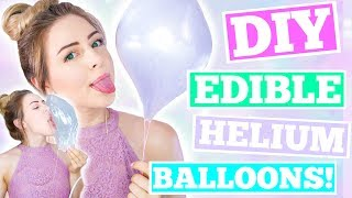 Testing Pinterest And Buzzfeed DIYs | Edible Helium Balloons !