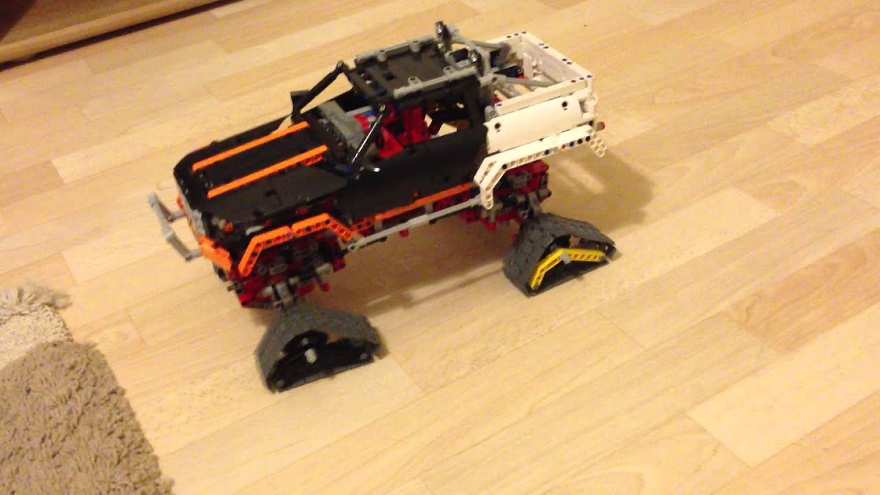 Lego technic 9398 4x4 offroader crawler with chains youtube