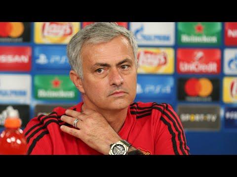 Mourinho discusses reports regarding his Manchester United future