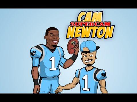 Cam Newton Cartoon Images | lairfan.org