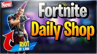 Fortnite Daily Shop *NEU* RIOT SKIN (28 November 2018)