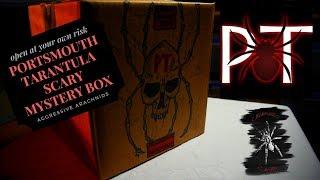 """Portsmouth Tarantulas """"scary"""" mystery box"""