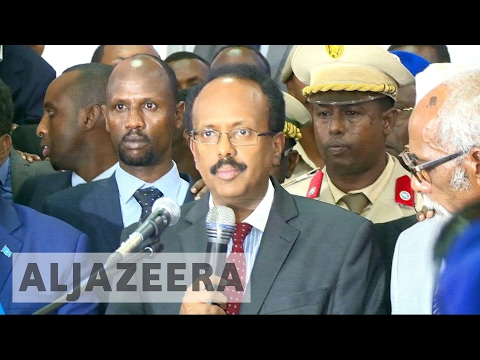 Former Somali PM declared new president