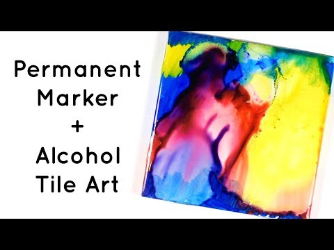 permanent-marker-and-alcohol-tile-art