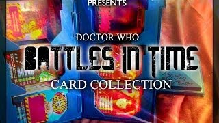 Doctor Who - My Battles In Time Card Collection