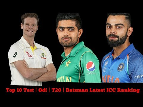 Top 10: Odi | T20 | Test | Batsman With Latest ICC Rankings | by Cricket Shaukeens