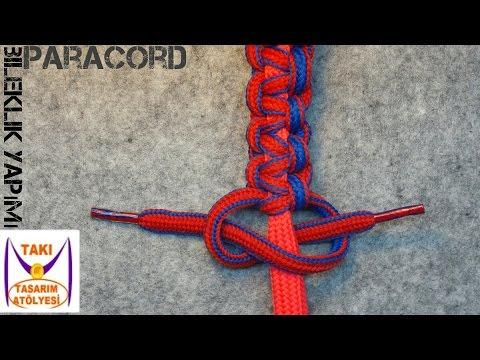 Making Paracord Bracelet (Adjustable) - Jewelry Design Workshop