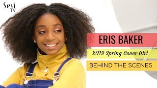 Eris Baker Cover Shoot - Behind the Scenes