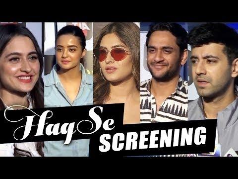 Haq Se | Web Series Special Screening | Surveen, Vikas Gupta, Karishma Sharma, Sanjeeda
