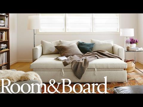 Oxford Pop-Up Platform Sleeper Sofa with Storage Chaise