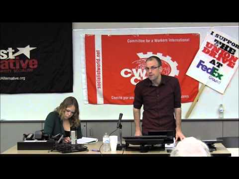 Revolt Against Capitalism in Europe - Stephan Koch (SOCIALIST MINNESOTA CONFERENCE 2012)
