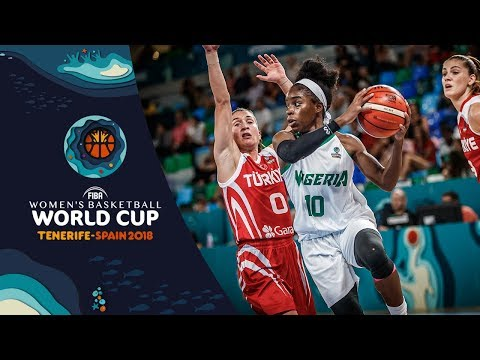 Nigeria v Turkey - Highlights - FIBA Women