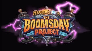 Boomsday project OTK rogue hearthstone.