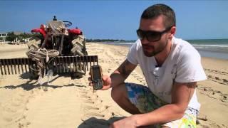 Трактором по телефону! Тест самого телефона Sonim от Кристовского